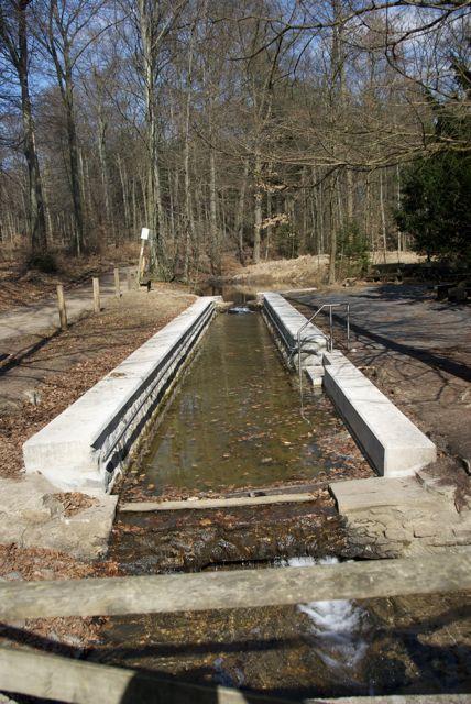 Wassertretbecken im Giesbach