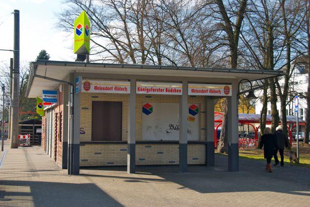 Rather Büdchen an der Endhaltestelle Königsforst