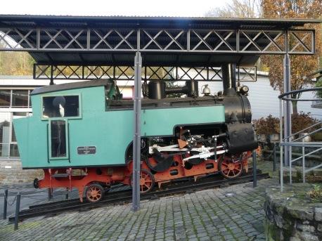 Alte Zahnrad-Lok